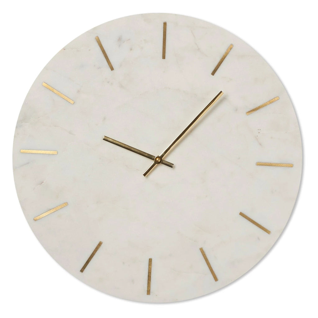 Mercer Marble Wall Clock