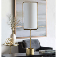 Regina Andrew Geo Rectangle Table Lamp