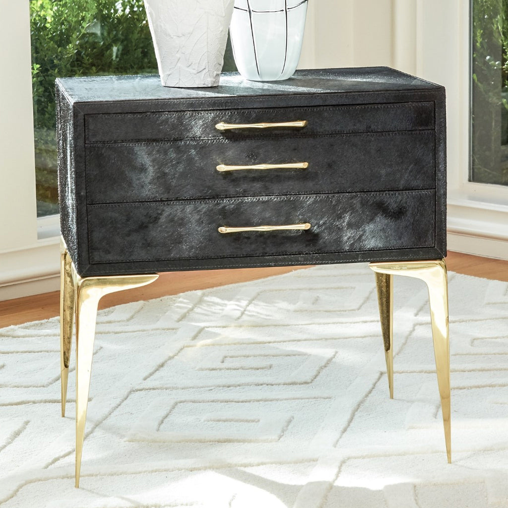 Global Views Stiletto Bedside Table