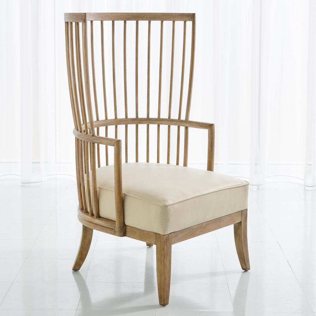Studio A Spindle Wing Chair
