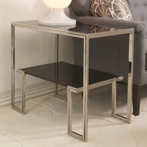 Global Views One Up Side Table