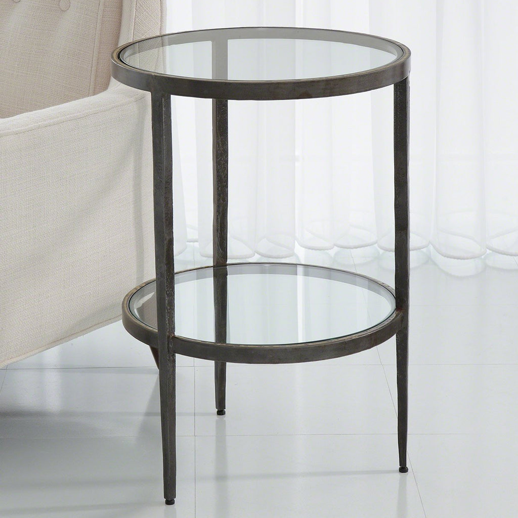 Studio A Laforge Two-Tiered Side Table