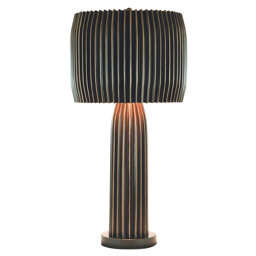 Studio A Crimp Table Lamp