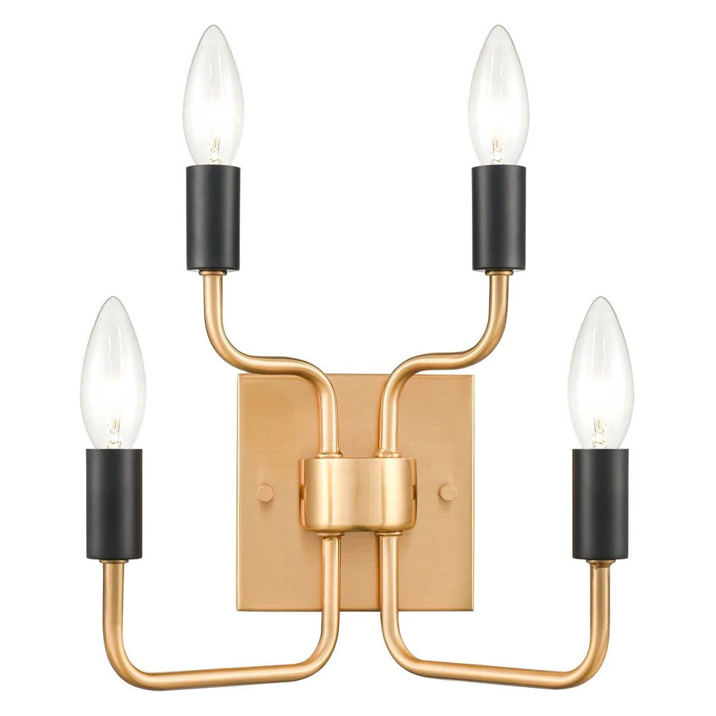 Hoffman Geo Gold Fireplace Screen