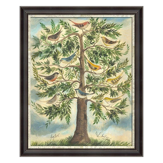 The Songbirds Framed Print