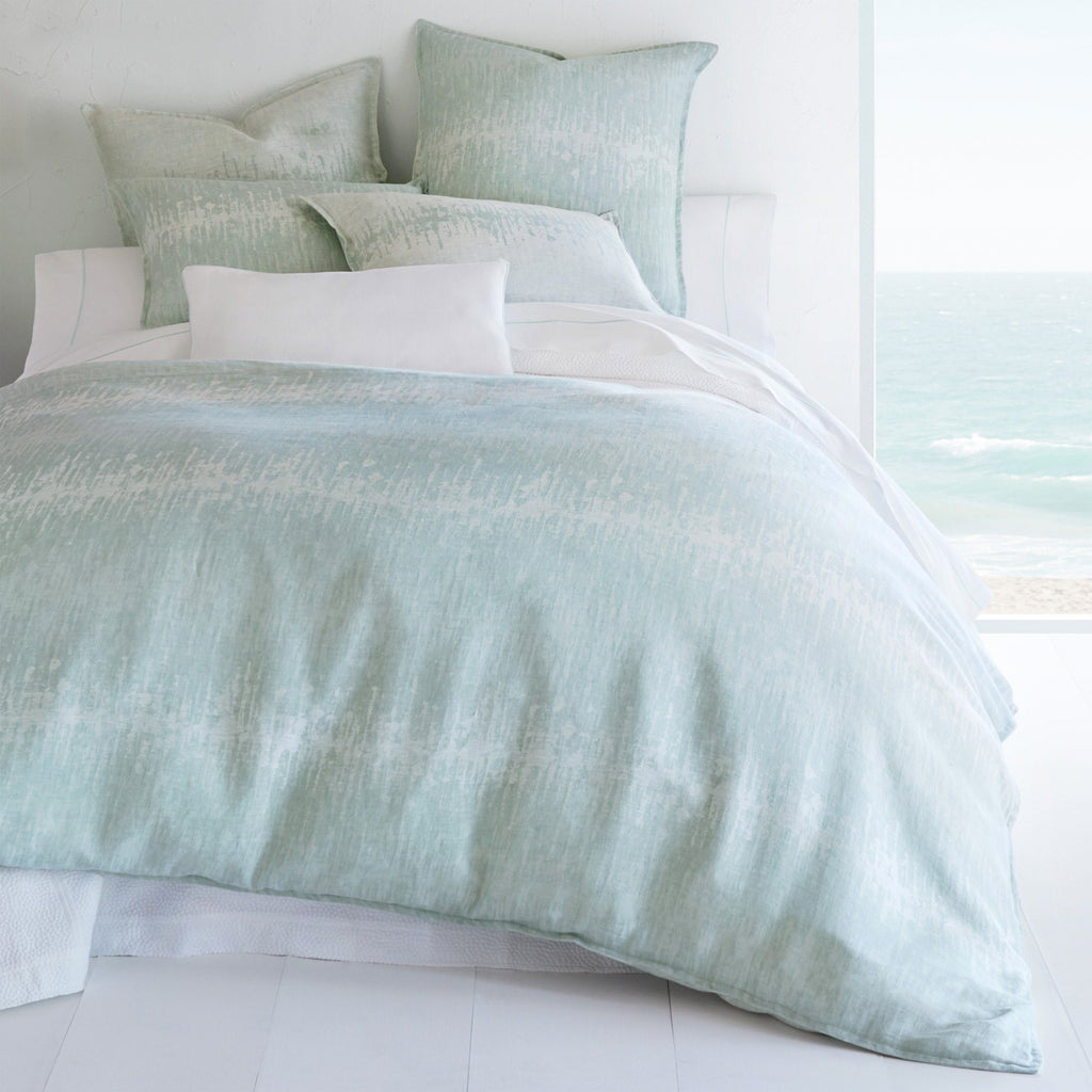 Peacock Alley Malibu Reversible Duvet Cover