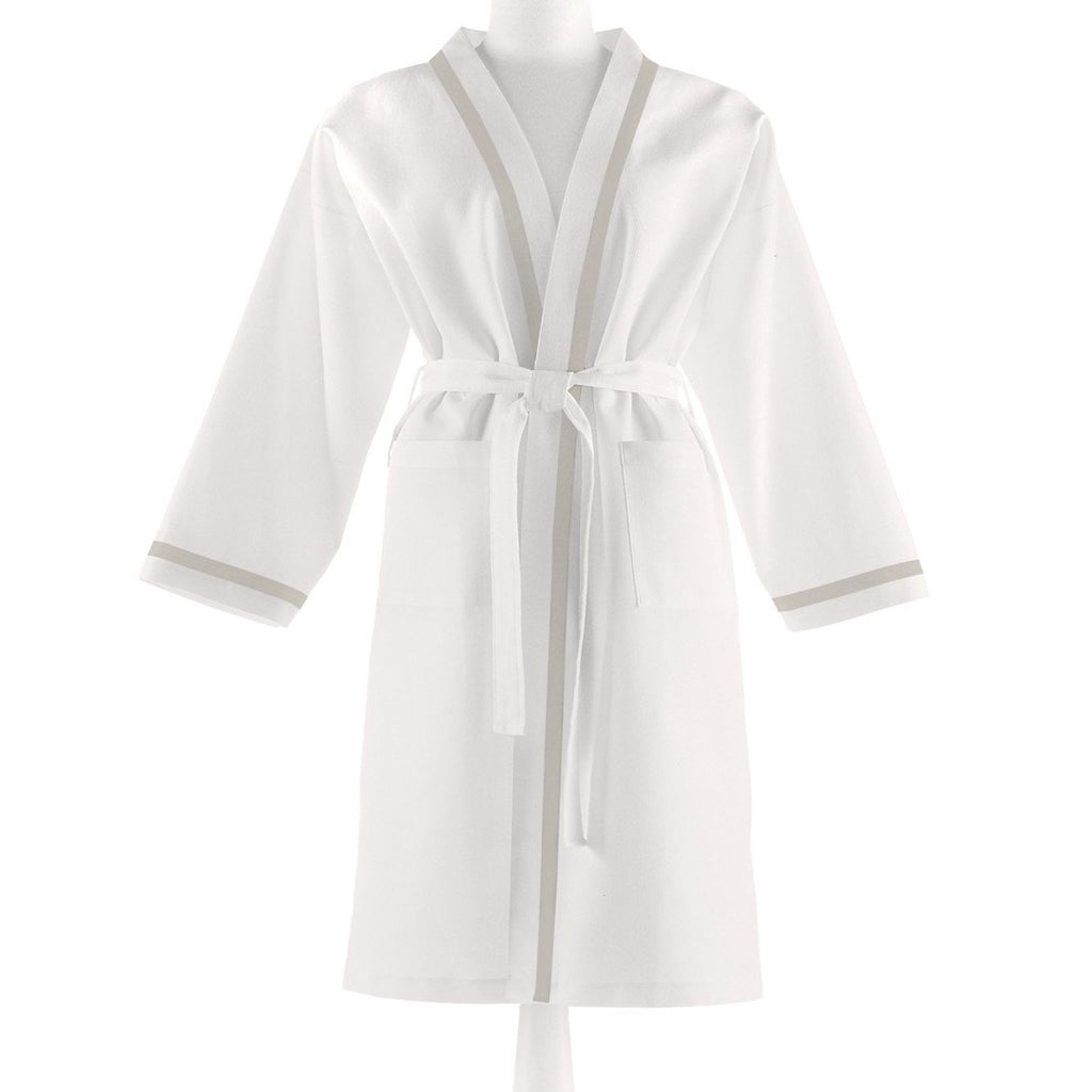 Peacock Alley Pique Bath Robe