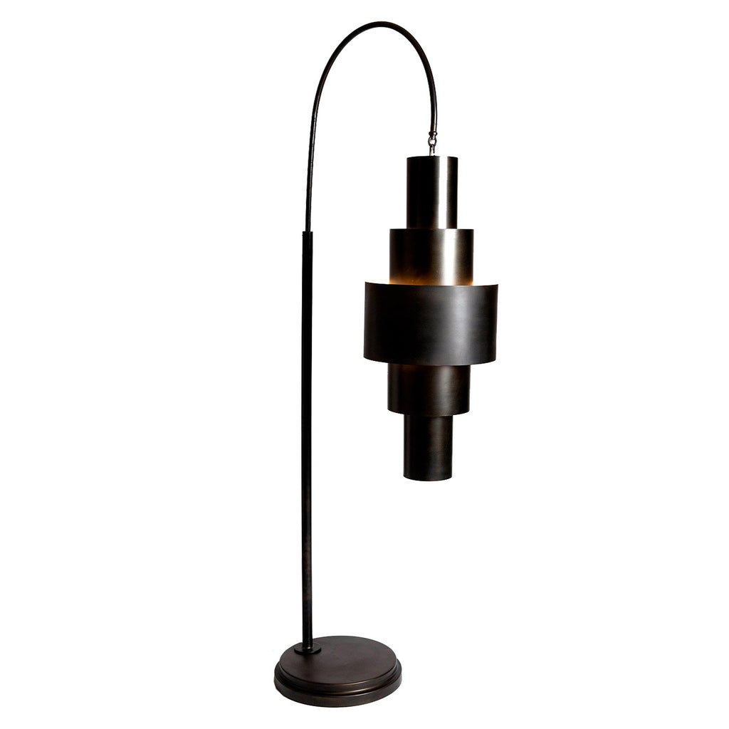 Studio A Babylon Bronze Floor Lamp