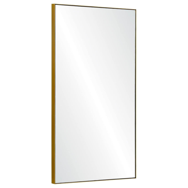 Mirror Image Home Salado Burnished Brass Wall Mirror