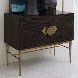 Global Views Galapagos 2 Drawer Chest