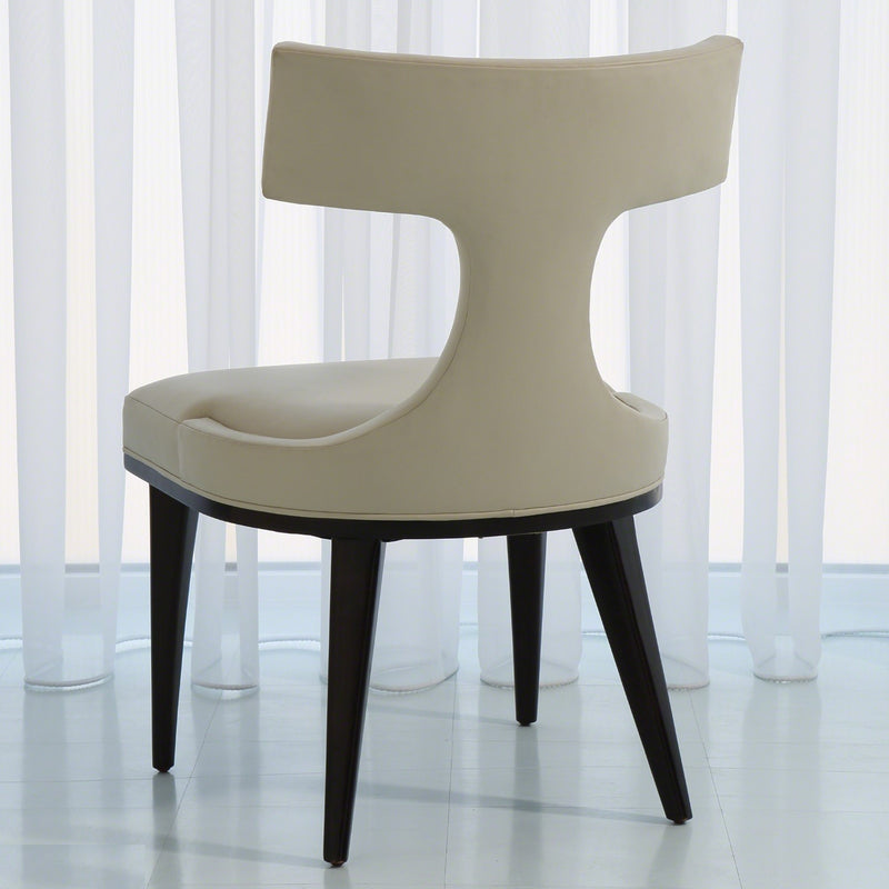 Global Views Anvil Back Dining Chair