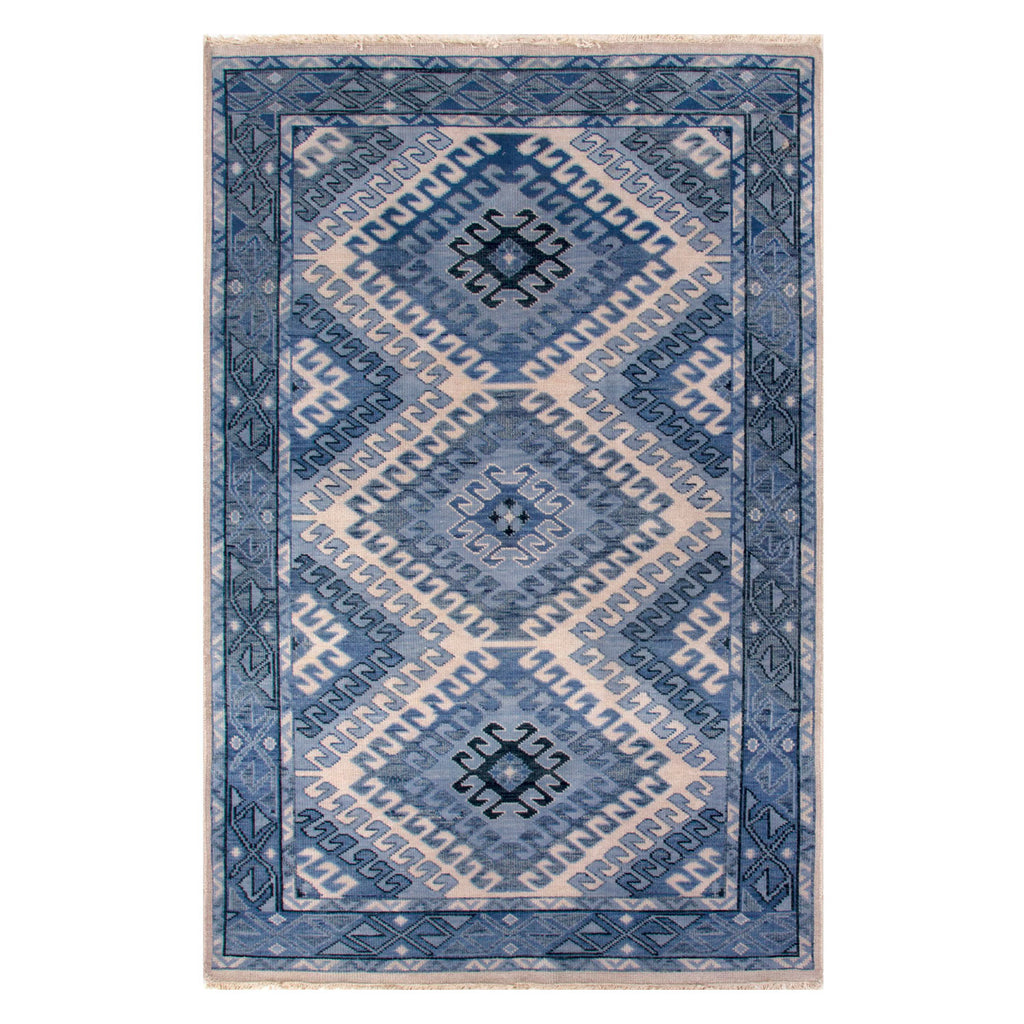 Jaipur Village By Artimis Hobbs Hand Knotted Rug