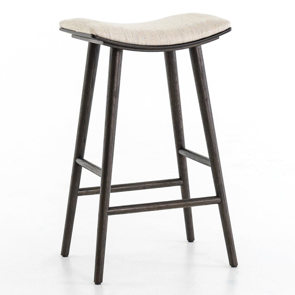 Four Hands Union Saddle Bar Stool