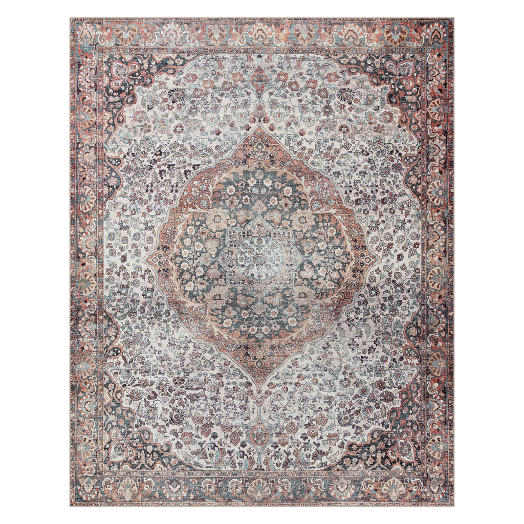 Loloi II Wynter Red/Multi Power Loomed Rug