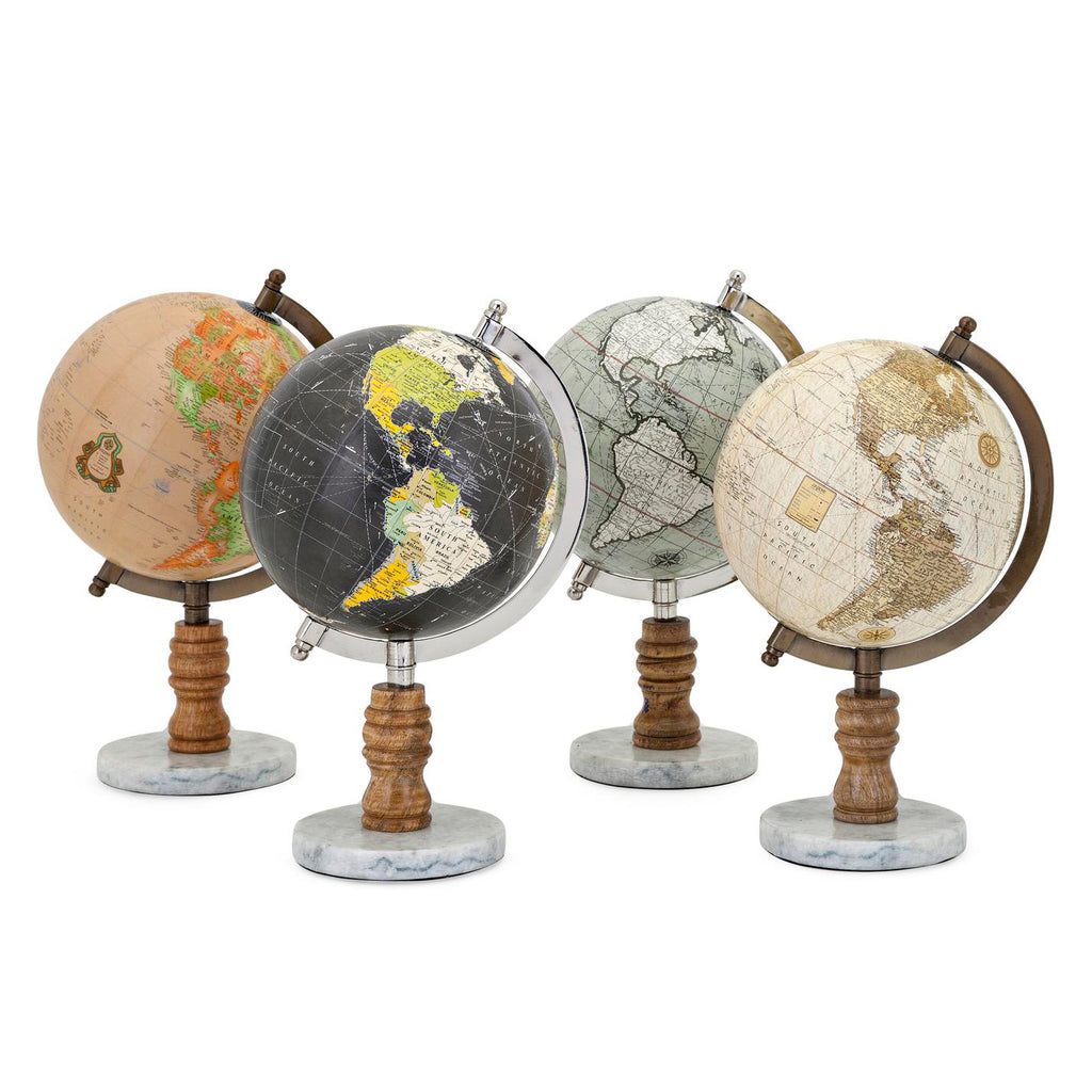 Atlas Decorative Globe Set of 4
