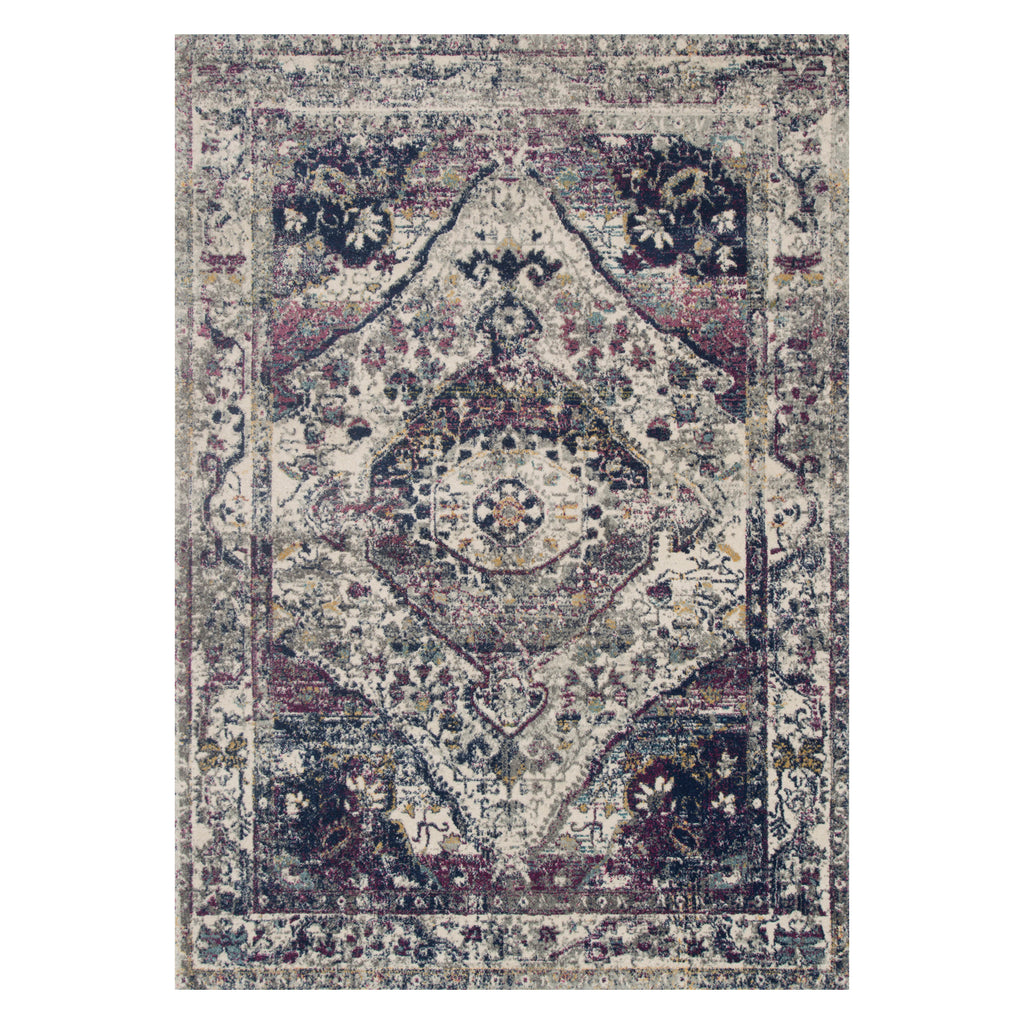 Loloi Zehla Frame Power Loomed Rug
