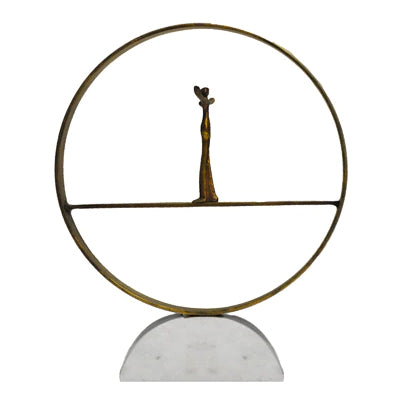 Worlds Away Zen Sculpture - Final Sale