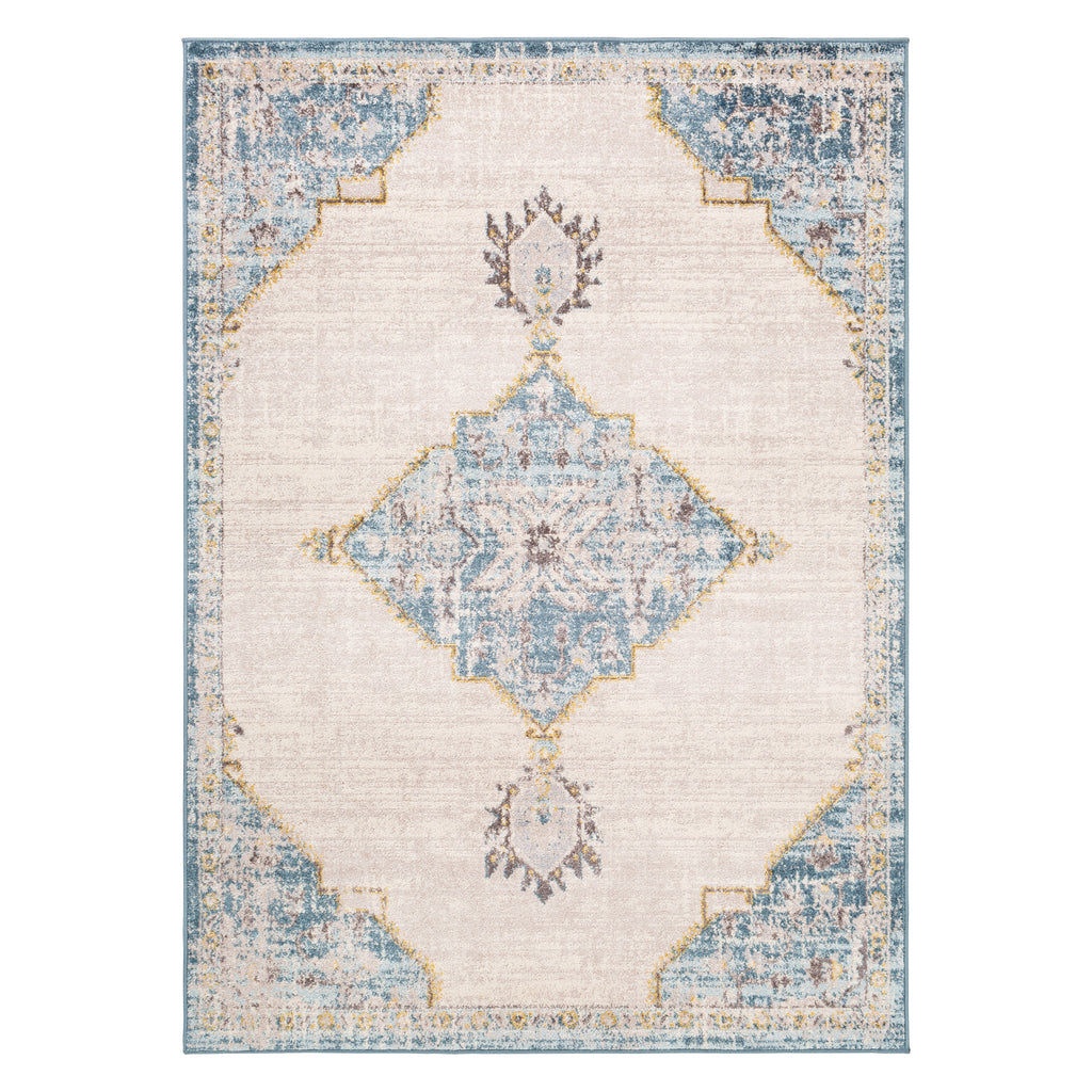 Surya Ankara Medallion Machine Woven Rug