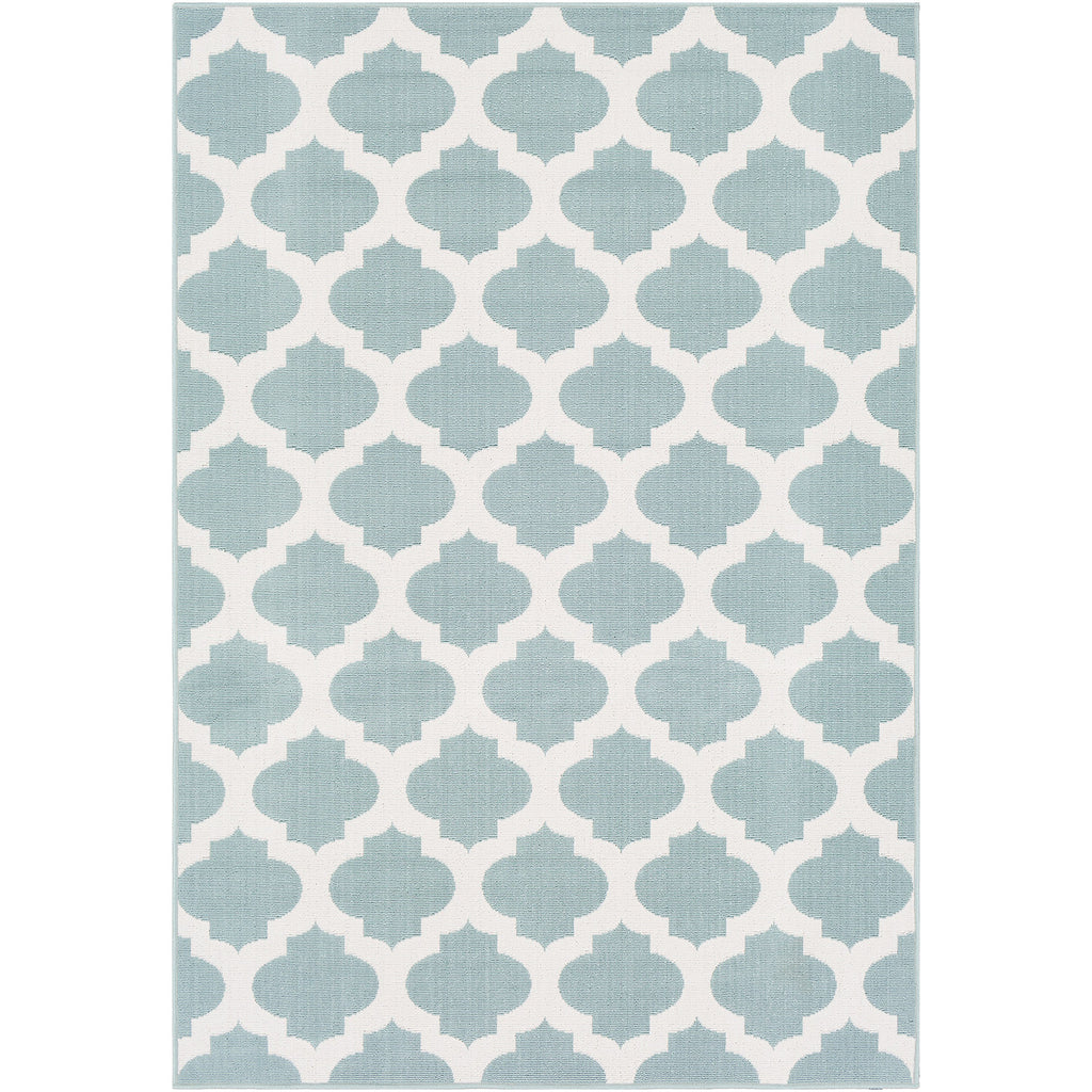 Surya Alfresco Quatrefoil Indoor/Outdoor Rug