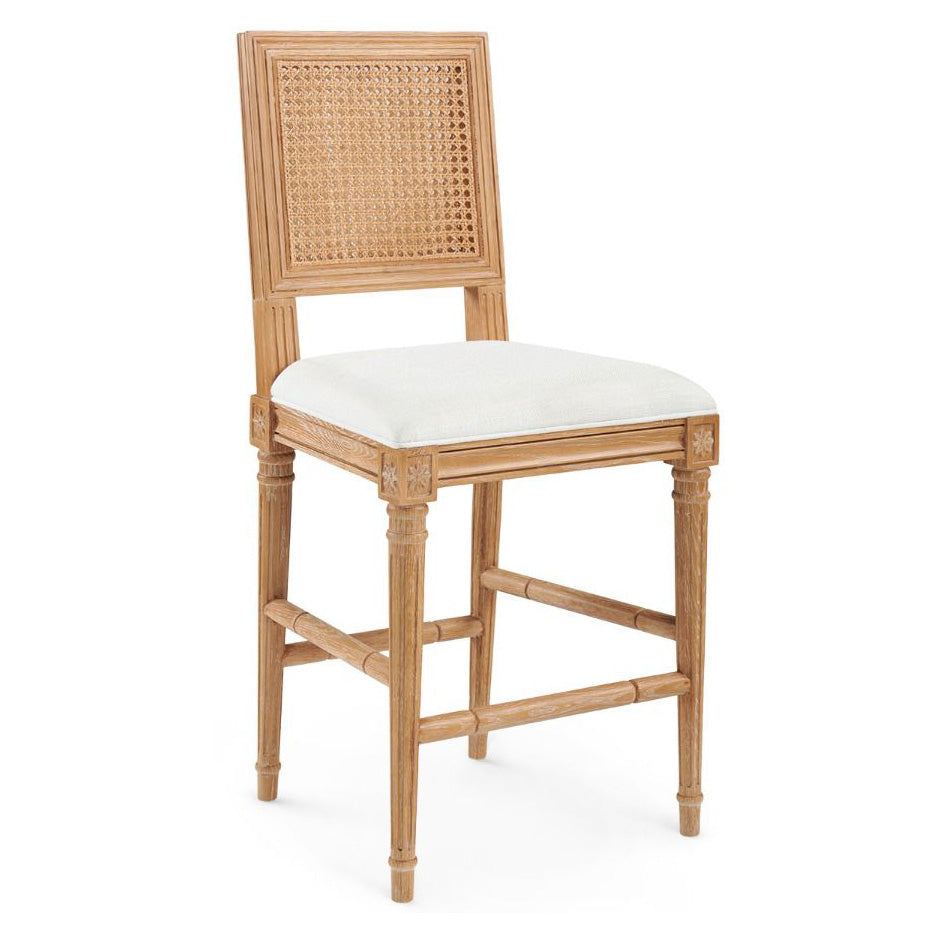Bungalow 5 Annette Cerused Oak Counter Stool