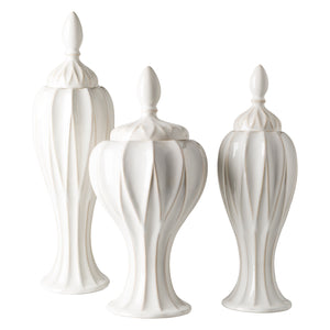 Sebastian Indoor/Outdoor Urn Set of 3