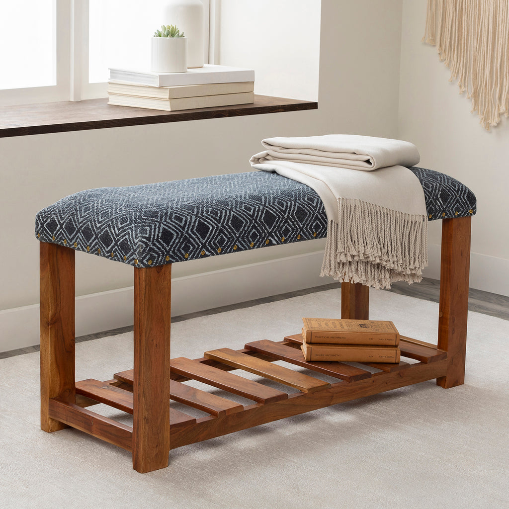 Meridian Upholstered Bench