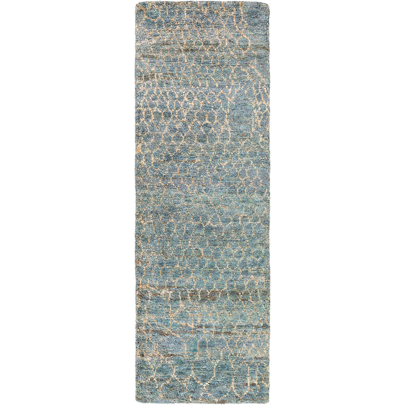 Jill Rosenwald for Surya Bjorn Scale Hand Knotted Rug