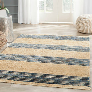 Lake Bluff Stripe Flat Weave Rug