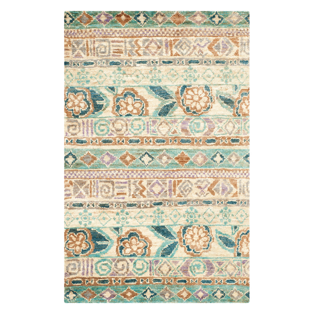 Lake Bluff Beach Hand Knotted Rug