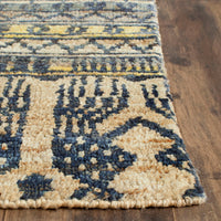 Lake Bluff Tribe Hand Knotted Rug