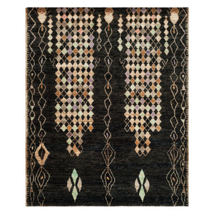 Lake Bluff Gloom Hand Knotted Rug
