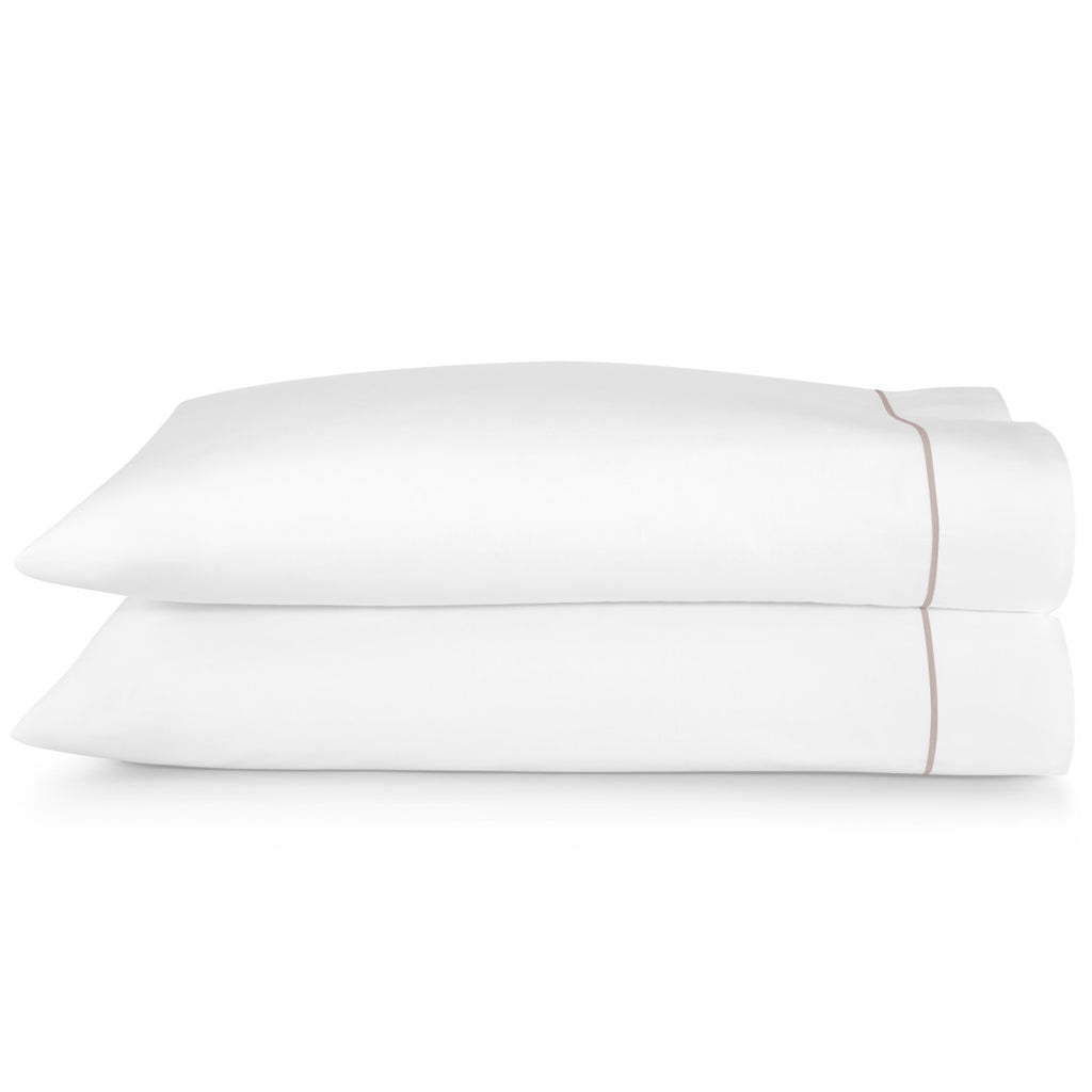 Peacock Alley Boutique Embroidered Percale Pillow Case Set