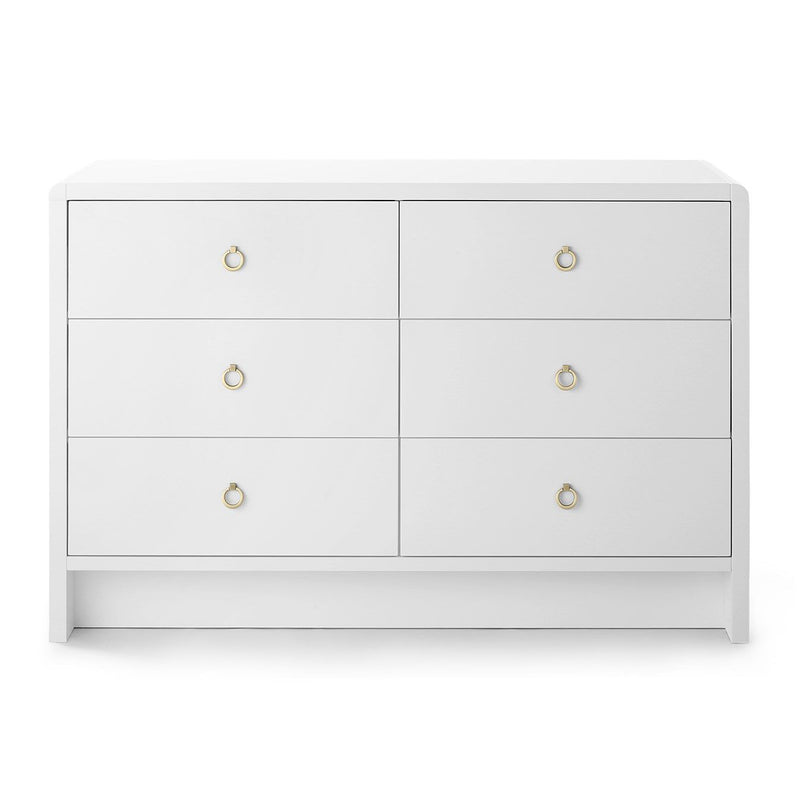 Bungalow 5 Bryant Linen Extra Large 6-Drawer Dresser