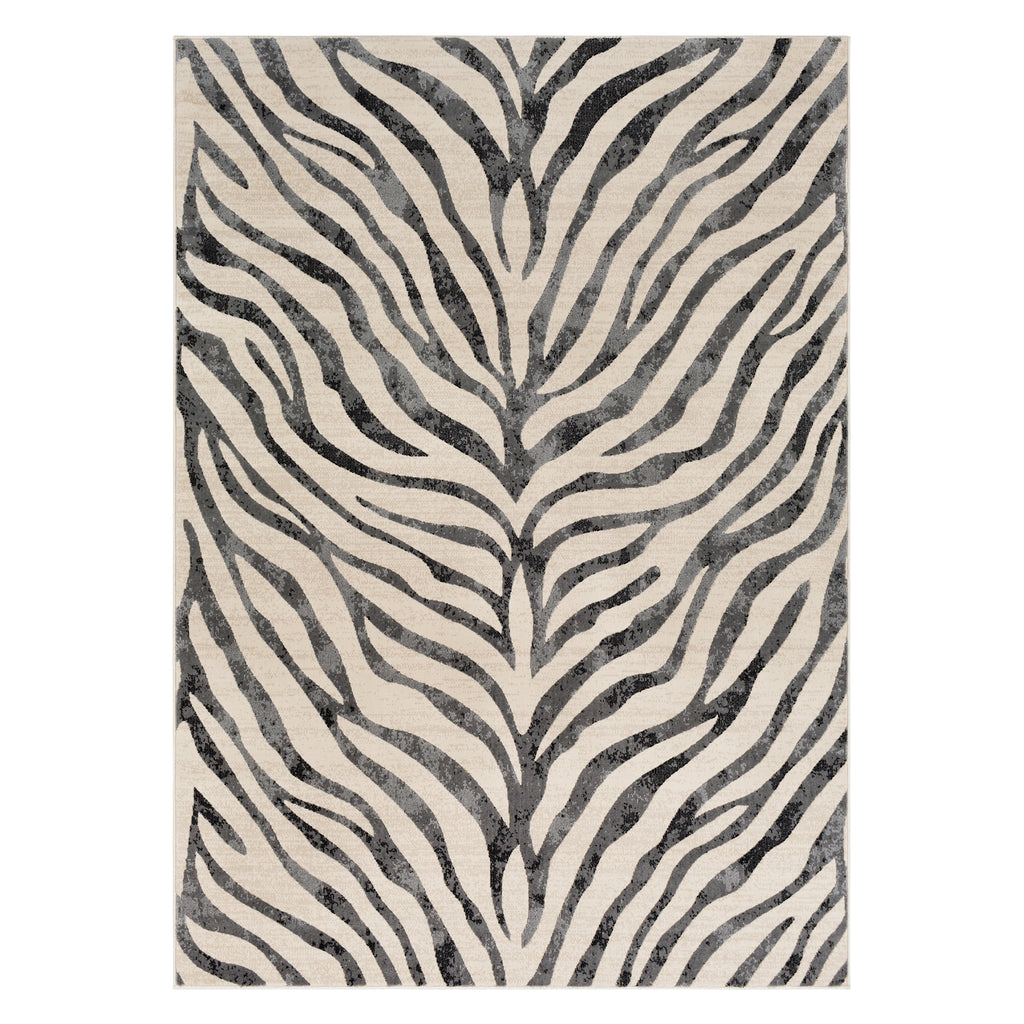 Surya City Zebra Medium Pile Rug