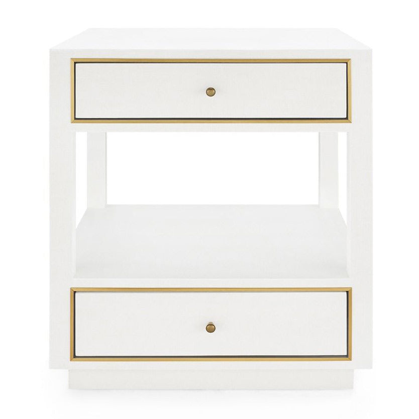 Bungalow 5 Carmen 2 Drawer Side Table