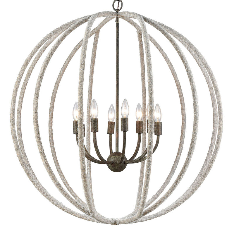 Brody Rope Chandelier