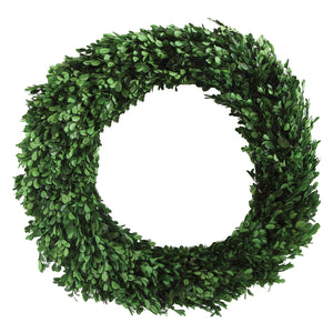 Trace Boxwood Wreath