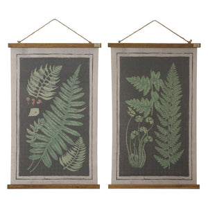 Fern Wall Decor Set of 2