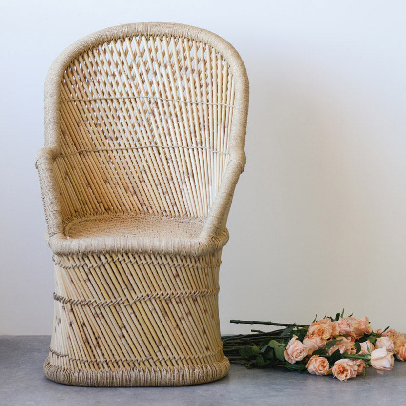 Luna Bamboo Accent Chair