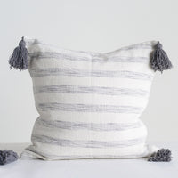 Torres Striped Throw Pillow
