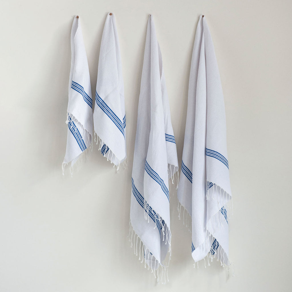 Poirier Stripe Bath Towel