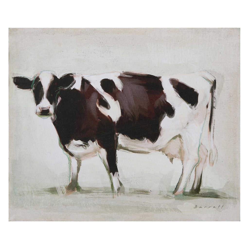Cassie Cow Canvas Wall Art