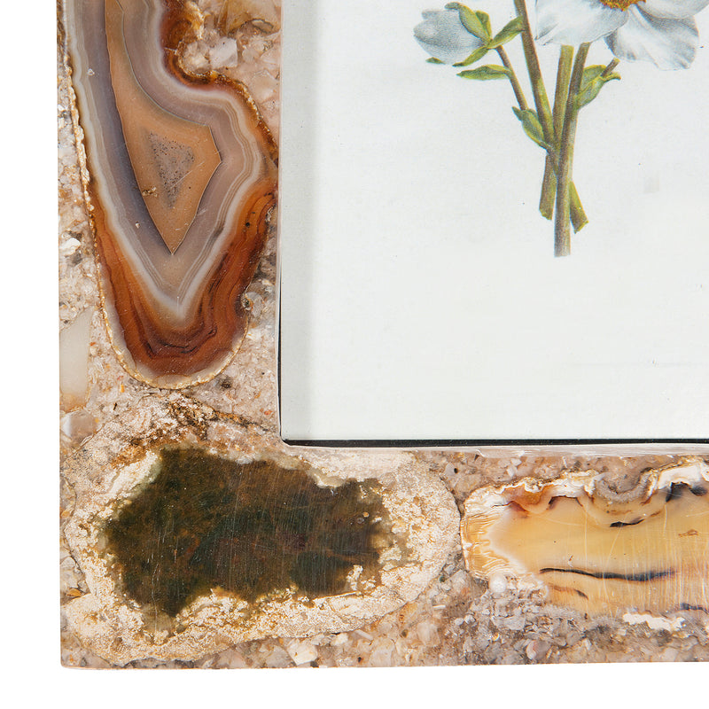 Moller Brown Agate Picture Frame