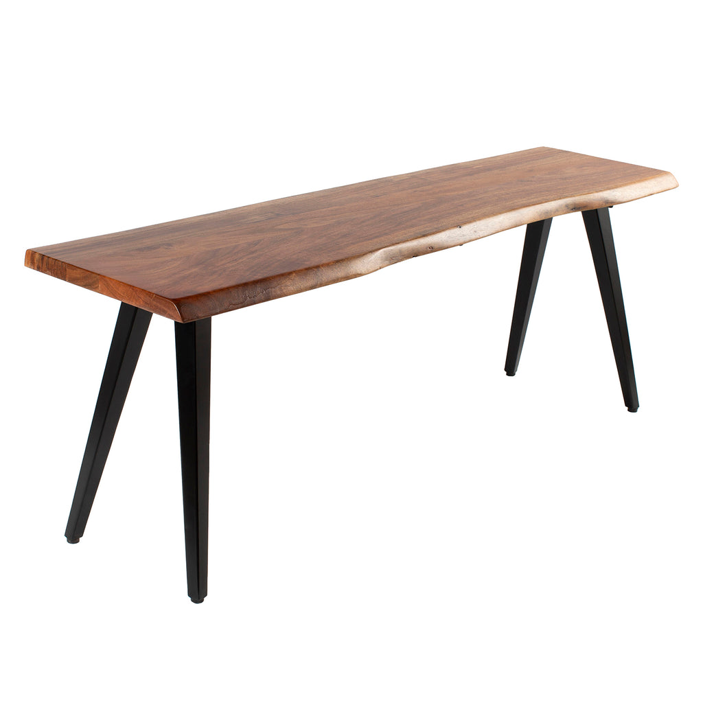 Edson Natural Edge Bench