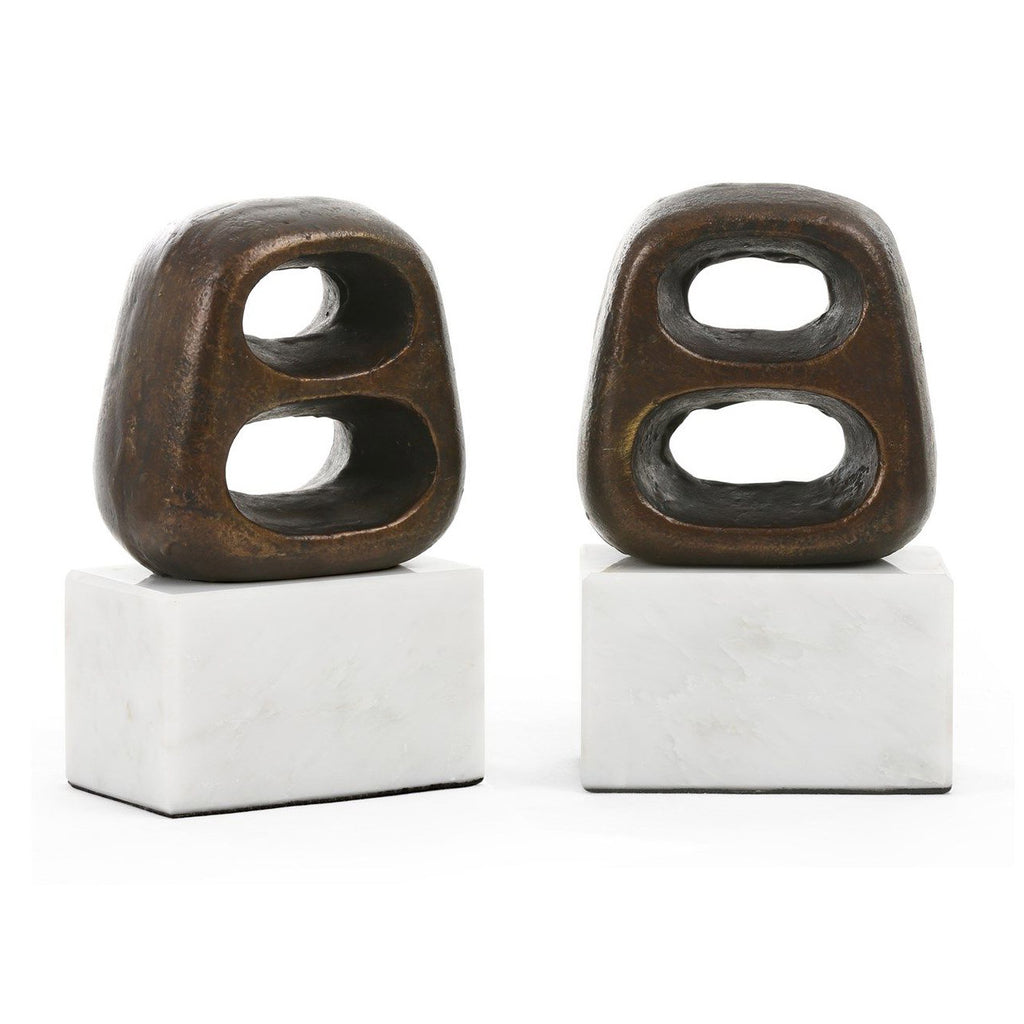 Bungalow 5 Delphi Bookend Set
