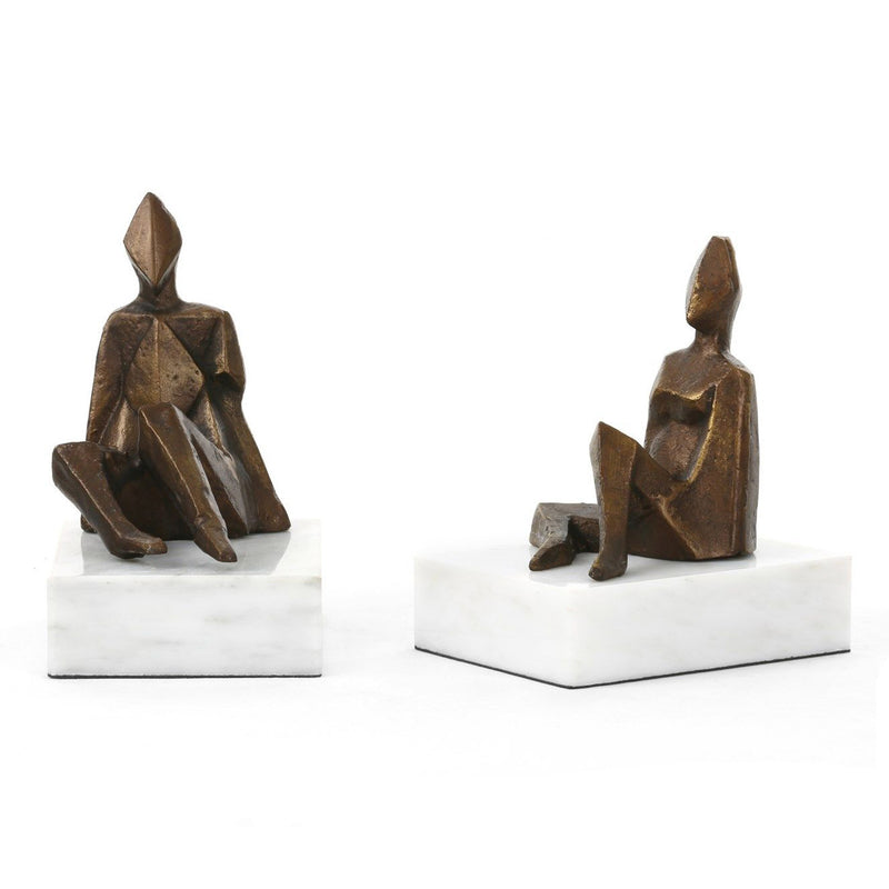 Bungalow 5 Duet Statue Set of 2
