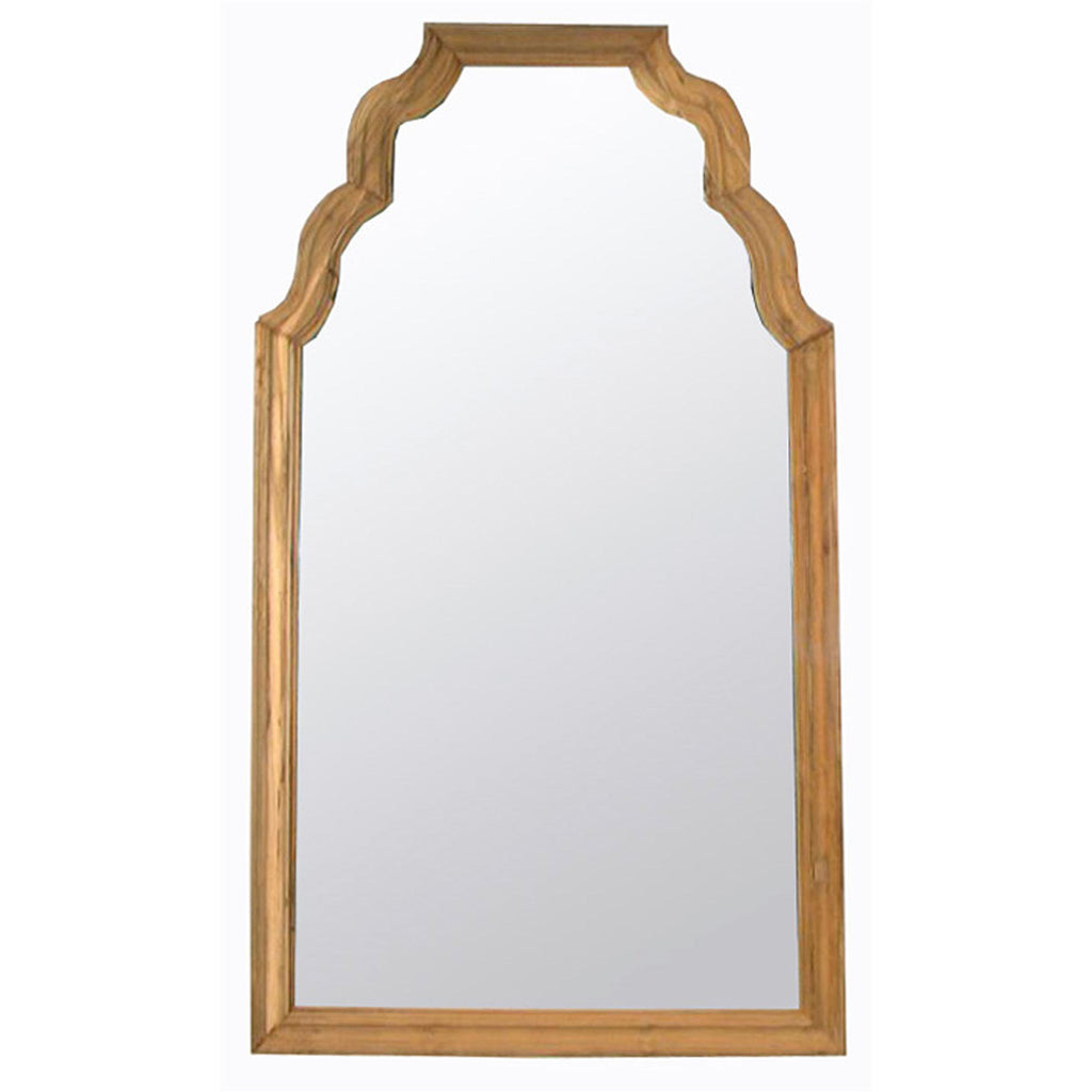 Noir Teak Floor Mirror