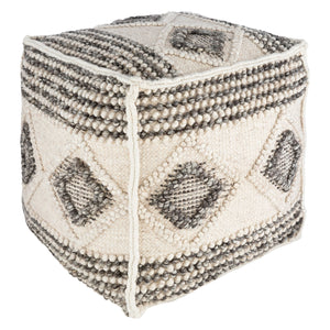 Danish Diamond Pouf