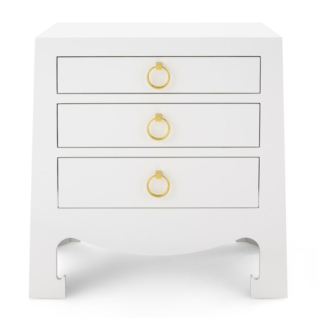 Bungalow 5 Jacqui 3-Drawer Side Table