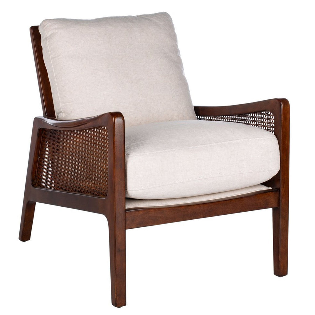 Wade Wood Frame Accent Chair